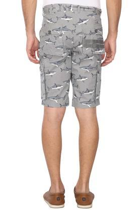 Mens 6 Pocket Printed Shorts