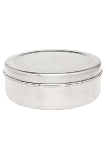 Round Spice Box with 3 Spoons