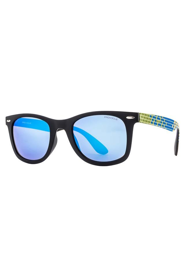 Womens Wayfarer Polycarbonate Sunglasses