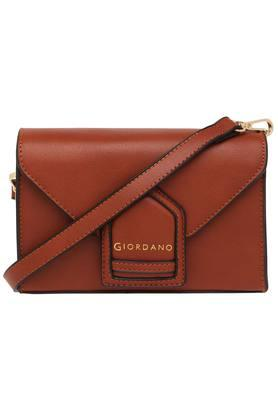 GIORDANOWomens Snap Closure Box Sling Bag