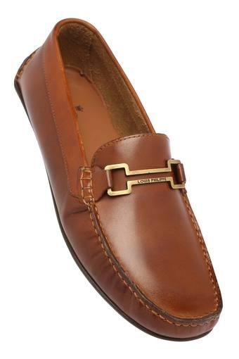 75444ca0e68 Buy LOUIS PHILIPPE Mens Leather Slipon Loafers