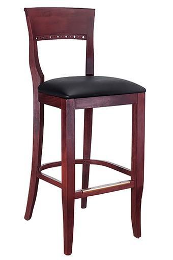 Brown Okaya Bar Chair
