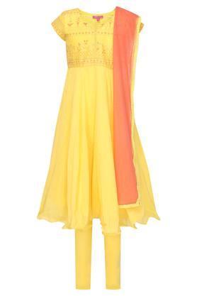 11651b0574 Buy Biba Girls Layered Dress And Kids Lehenga Set Online   Shoppers Stop