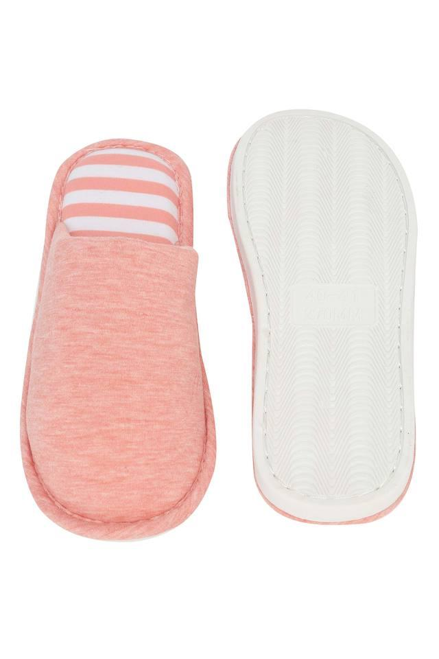 Slub Slipon Bath Slippers