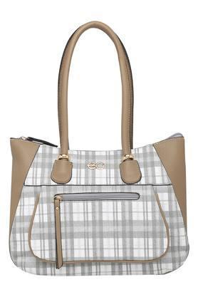E2OWomens Zipper Closure Shoulder Handbag - 204277690_9463
