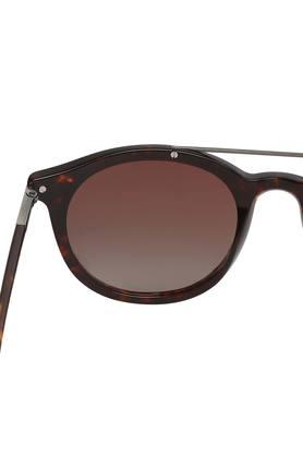 Unisex Full Rim Round Sunglasses - GLS014-C171