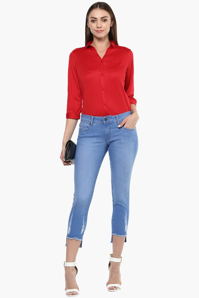 Womens Solid Shirt
