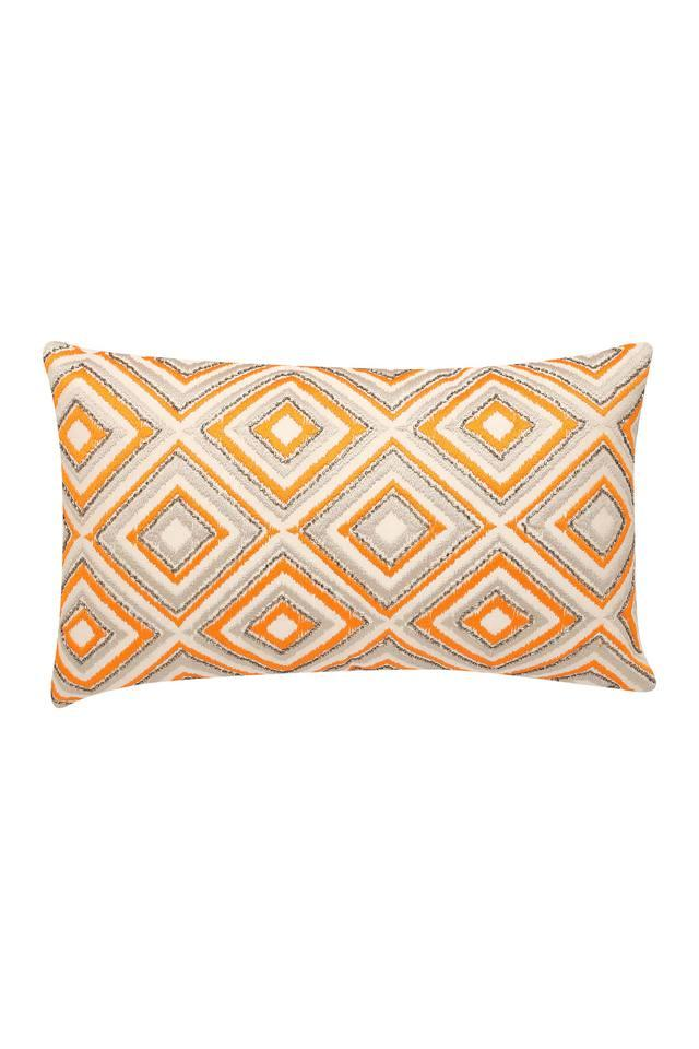 Rectangular Embroidered Cushion Cover