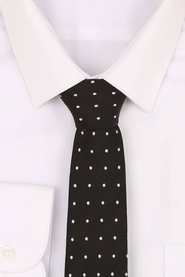 Mens Printed Formal Tie with Pocket Square and Cufflinks