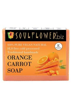 SOULFLOWER Orange And Carrot Handmade Soap