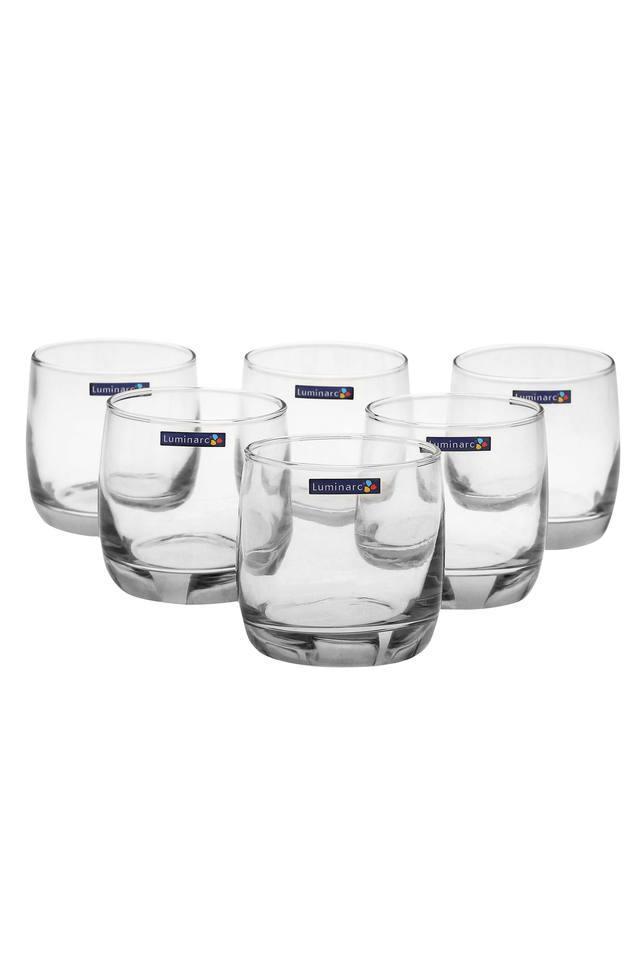 Round Tumbler Glass Set of 6
