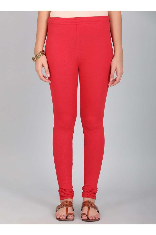 Womens Solid Churidar Pants