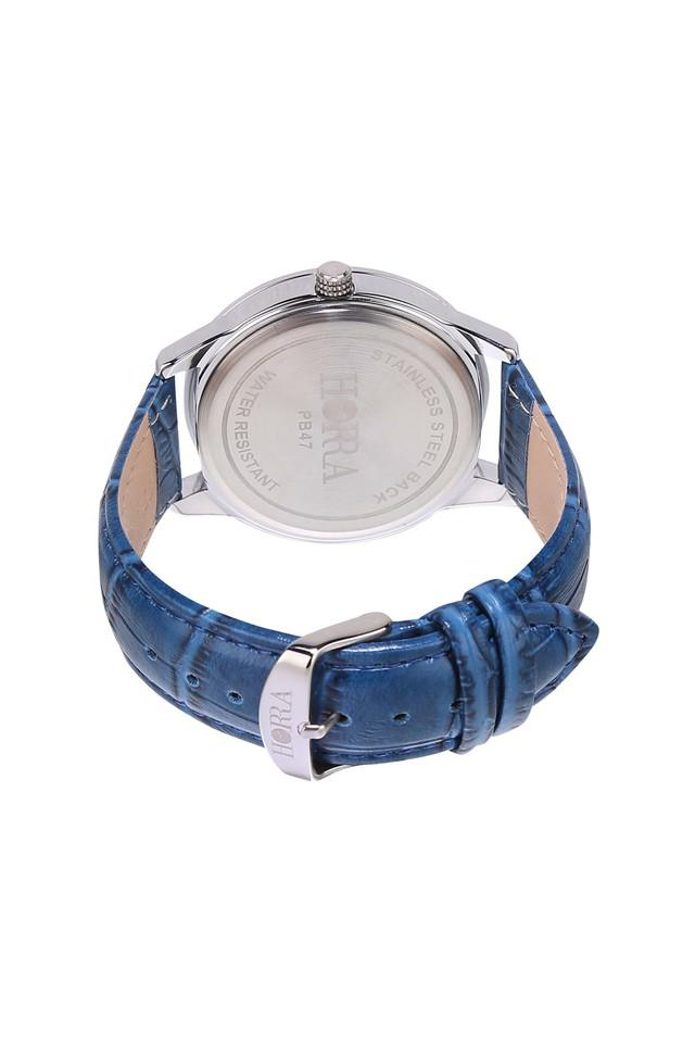Mens Corona Series Blue Dial Analog Watch - PB817MLS47