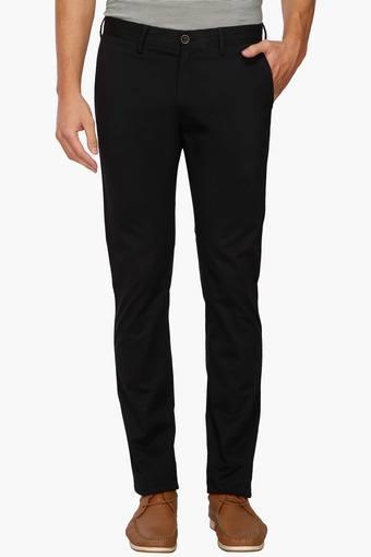 ALLEN SOLLY -  BlackCargos & Trousers - Main