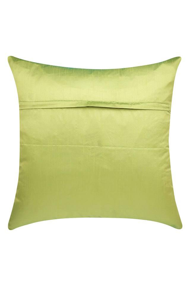Square Solid Quilted Cushion Cover