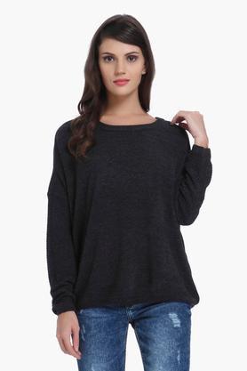 ONLY Womens Solid Casual Pullover - 202995111