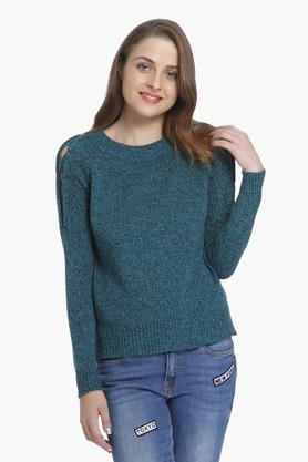 ONLYWomens Knitted Pattern Pullover