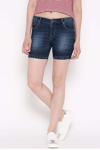 DEVIS -  Dark BlueCapris & Shorts - Main