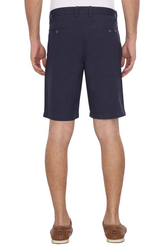 Mens 5 Pocket Solid Shorts