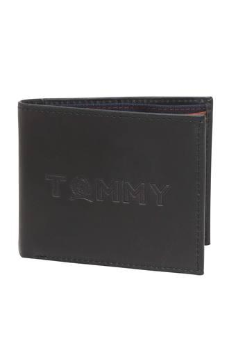 TOMMY HILFIGER -  Black Mix Wallets - Main