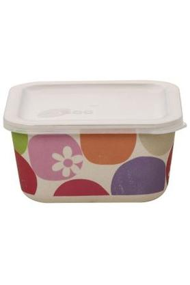 BACK TO EARTHRectangular Printed Container With Lid