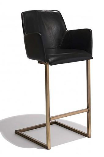 Black Sahara Bar Chair