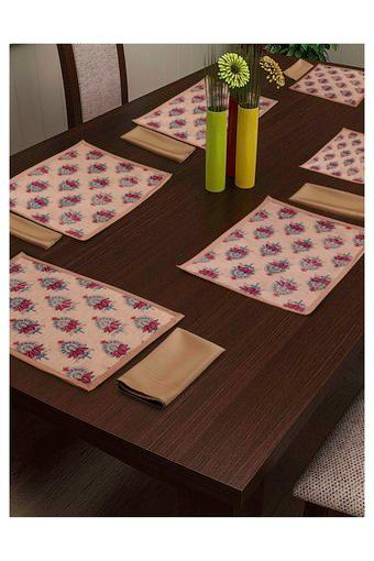 Printed Place Mat and Napkin Set of 12