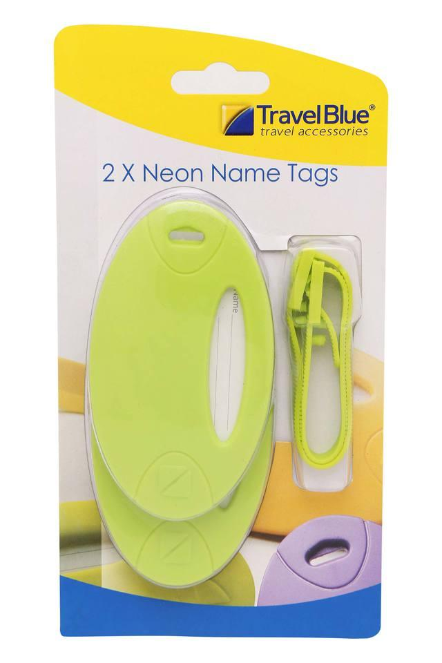 Unisex Name Tags Pack of 2