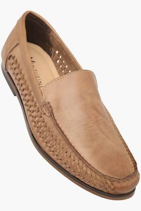 VENTURINI Mens Leather Slipon Loafers - 203381560