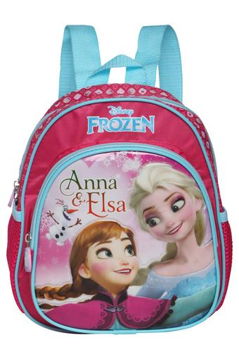 Frozen Anna and Elsa Zip Closure School Bag