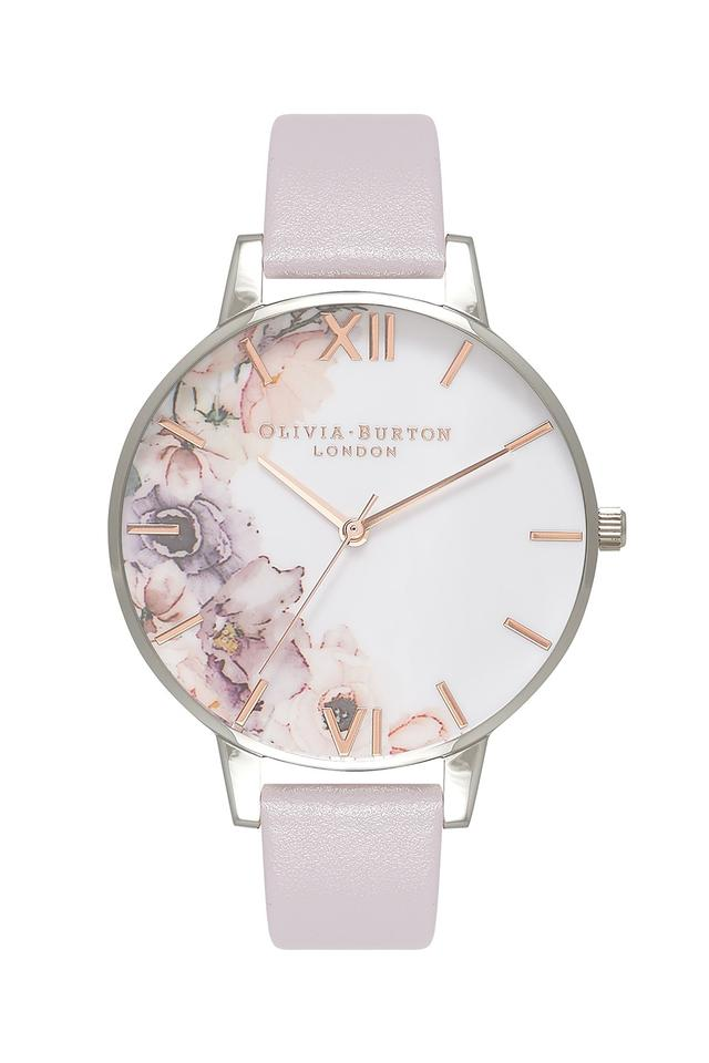 Womens Multi-Colour Dial Leather Analogue Watch - OB16PP32W