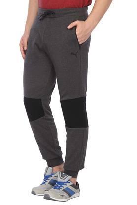 Mens Regular Fit Colour Block Track Pants