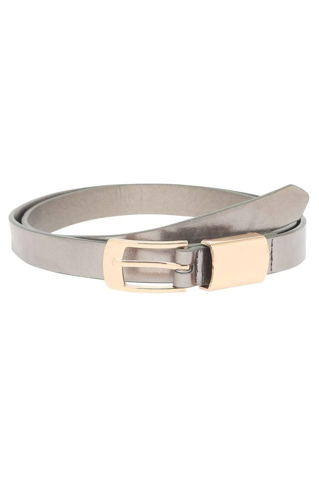 Womens Buckle Closure Casual Belt