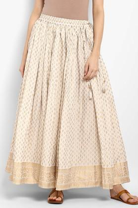 VARANGA Womens Printed Long Skirt - 204886227_8485