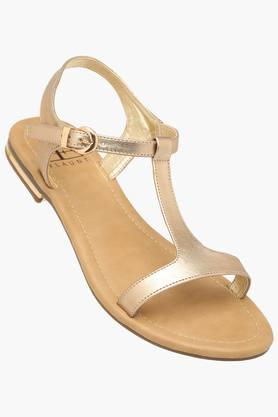 FEMINA FLAUNT Womens Casual Wear Buckle Closure Flats - 203269141_9417