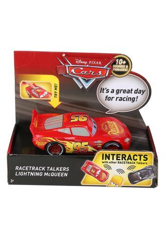 Unisex Racetrack Talkers Lightening Mc Queen Toy Car