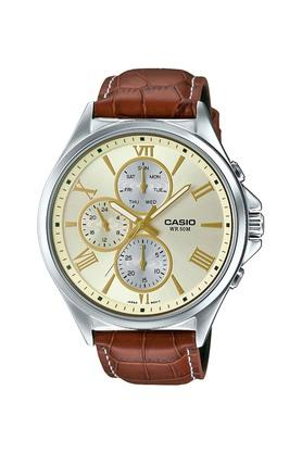 Mens Gold Dial Chronograph Watch - A1412
