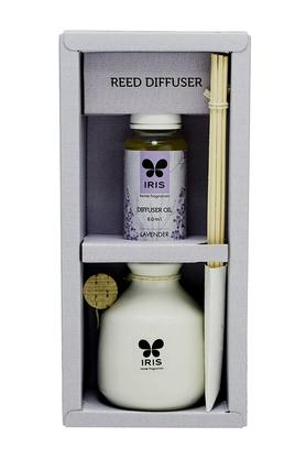 IRIS Lavender Reed Diffuser Set - 60 Ml