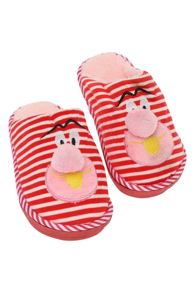 Striped Bath Slippers