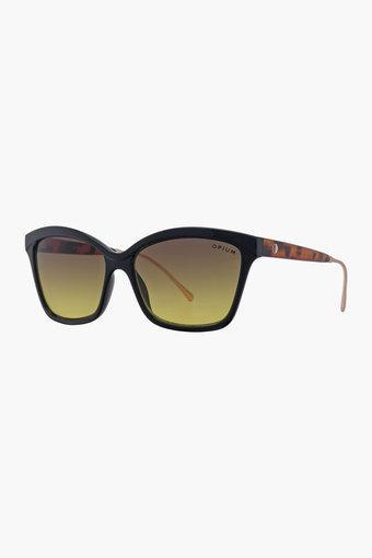 Womens Square Gradient Sunglasses