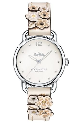 8f4a36251871 Buy COACH Womens Analogue Delancey Leather Strap Watch - 14502760 ...