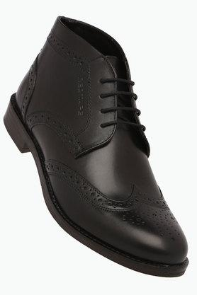 RED TAPE Mens Leather Lace Up Derbys - 203095244