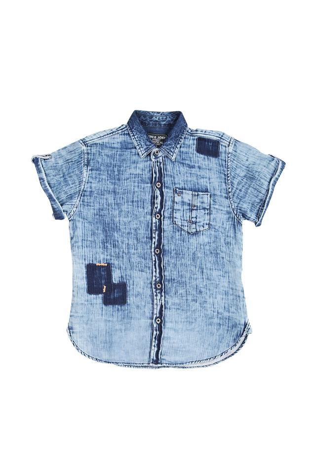 Boys Denim Casual Shirt