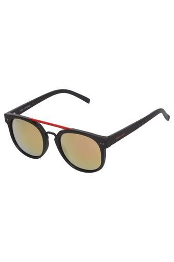 Mens Full Rim Navigator Sunglasses - C104BK1