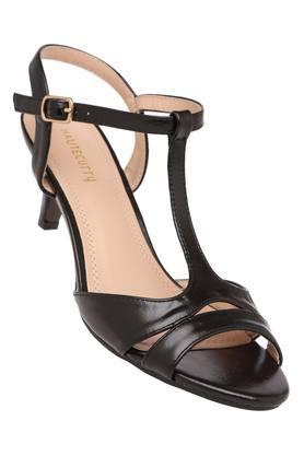 3f9235a0a82 X HAUTE CURRY Womens Casual Wear Buckle Closure Heels