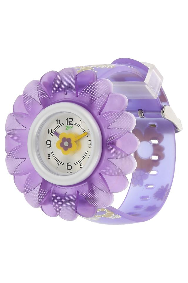 Girls Mother Of Pearl Dial Analogue Watch - NKC4005PP02
