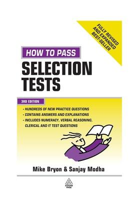 How to Pass Selection Tests: Essential Preparation for Numerical Verbal Clerical and IT Tests (Testing Series)