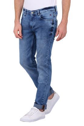 Mens 5 Pocket Acid Wash Jeans (Matt Fit)