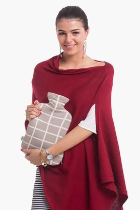 PLUCHINursing Poncho With Hot Water Bottle Cover