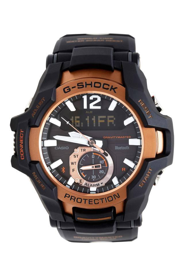Unisex Round Dial Chronograph Watch - G869